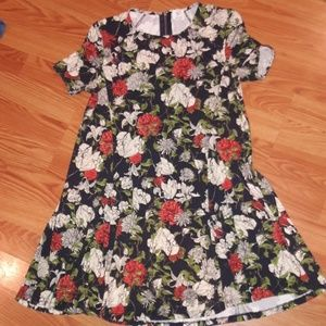 Zara TRF floral dress